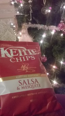 Christmassy Kettle chips