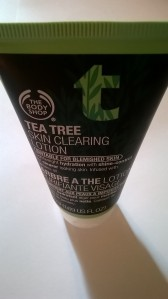 Skin clearing lotion